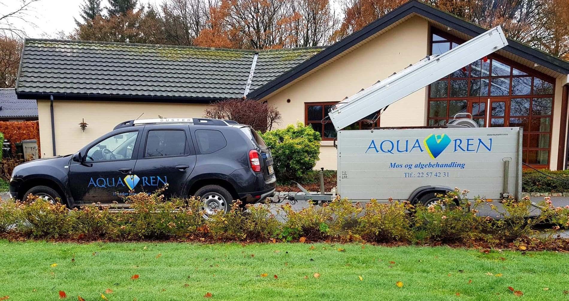 Aquaren Mos- og algebehandling